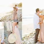 stylish laguna beach engagement photos