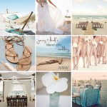 tropical chic beach wedding inspiration