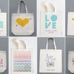 wedding chicks tote bags