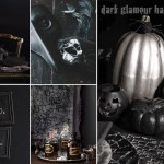 dark glamour halloween