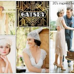 20's inspired wedding headpieces