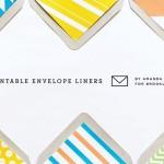 modern diy envelope liner