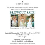 kirstie kelly annual gown sale