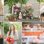 modern california orange grove wedding inspiration
